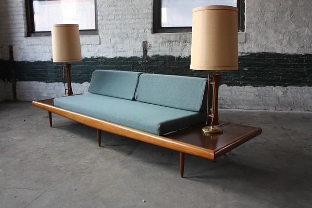 Amazing Adrian Pearsall Mid Century Modern Platform Sofa (U.S.A., 1960's)