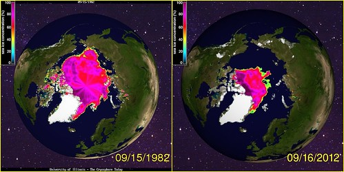 30 years of Arctic sea ice