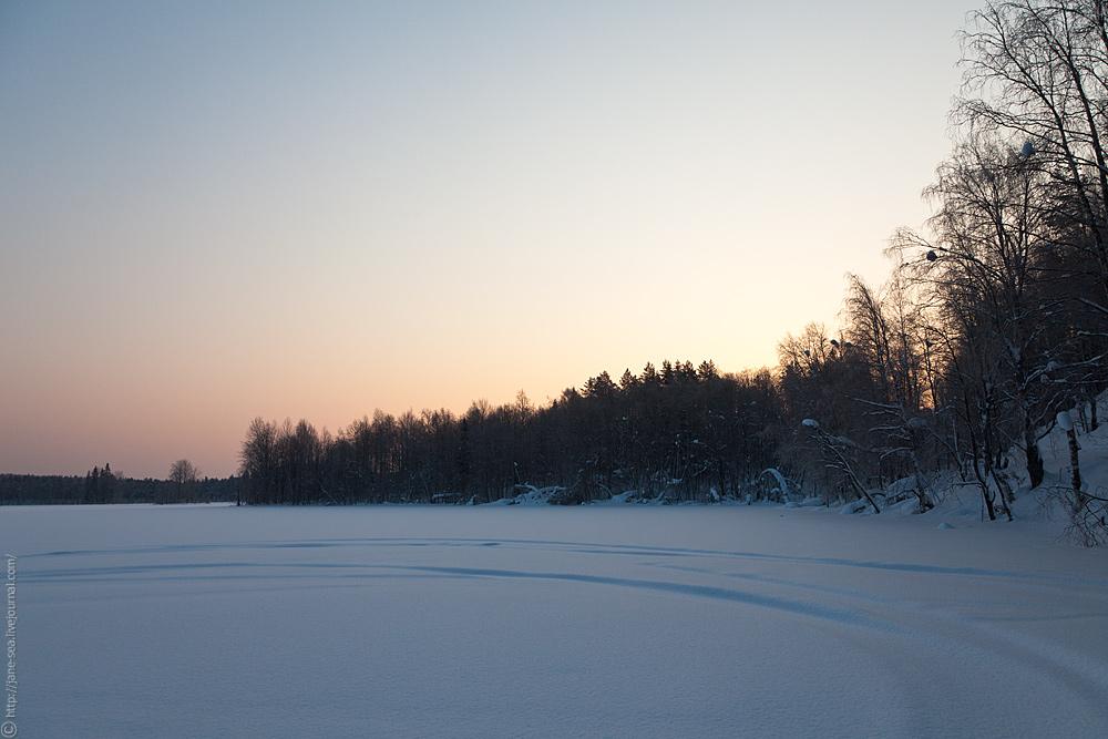 Масельга. Белое озеро