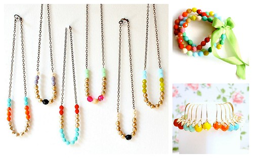 Colorful Bridesmaids' Gifts by Nest Pretty Things by Nina Renee Designs