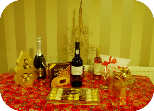Ferrero Chocolate & Wine Tasting