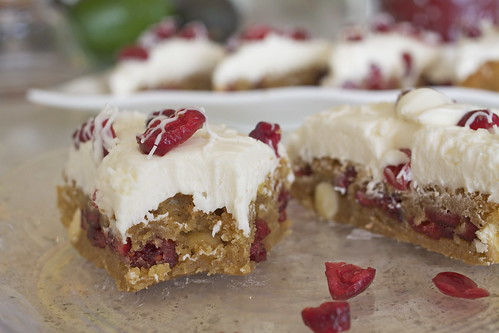 Cranberry Bliss Bars - Just Like Starbucks
