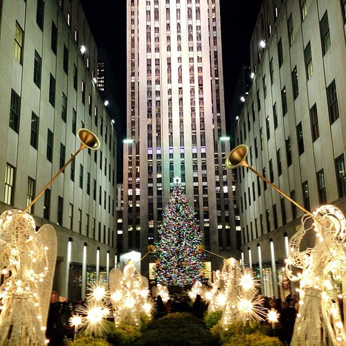 More of the tree. #rockefellercenter #nyc