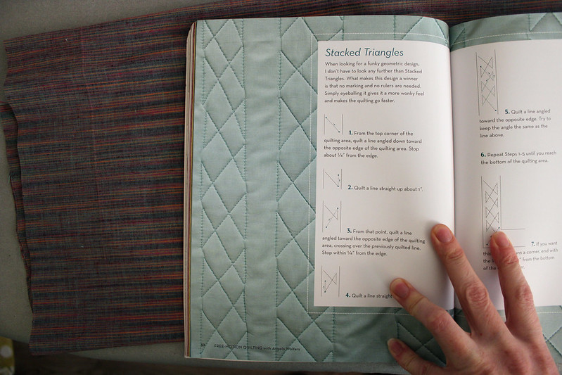 a page in Free-Motion Quilting by Angela Walters