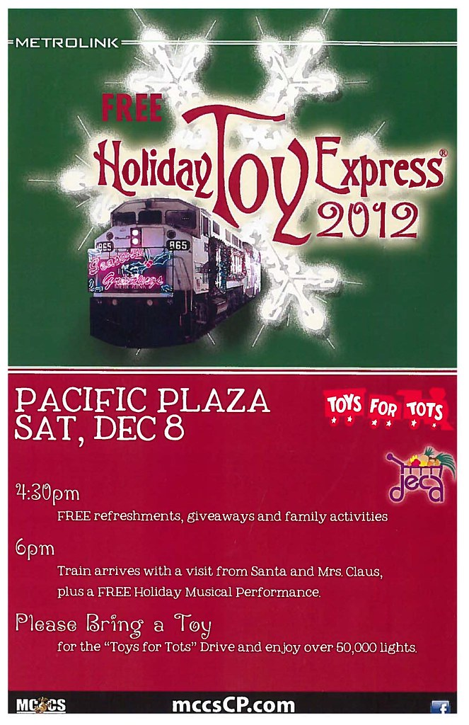 8248287242 b0d6f968d6 b 2012 Metrolink Holiday Train