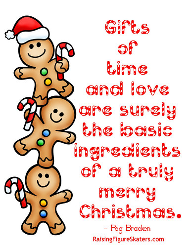 """Basic Ingredients of a Truly Merry Christmas"" Word Art Freebie"