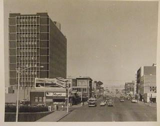 EDMONTON, JASPER AVENUE, 1963