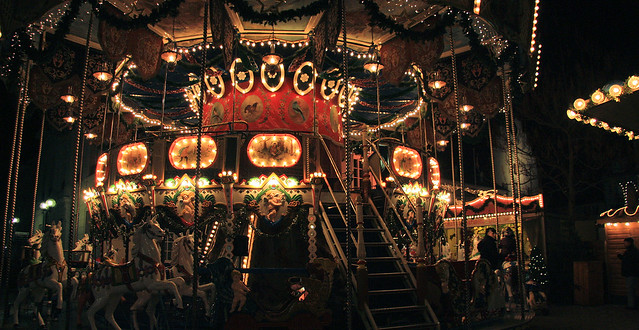 Nostalgie auf dem Thomas Nast Nikolausmarkt in Landau