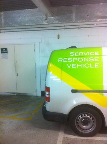 Service response vehicle