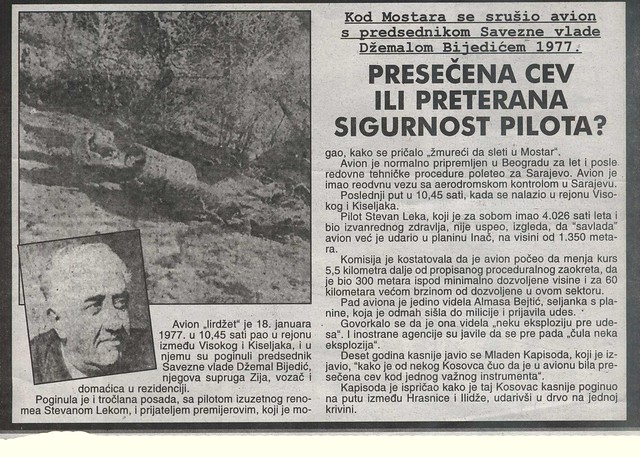DZEMAL BIJEDIC 1977