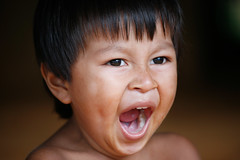 [Free Images] People, Children - Little Boys, Yawn, People - Open One's Mouth, Panamanian People ID:201212120600