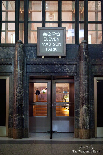 Exterior of Eleven Madison Park