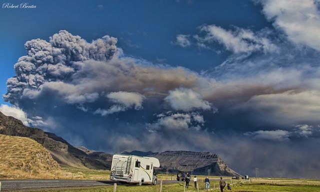 Iceland's Volcano : Eyjafjallajökull