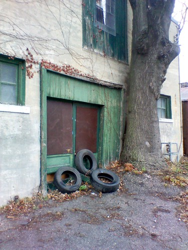 Tires on Bridgman Avenue