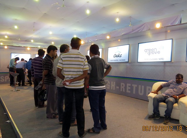 Pune Property Exhibition - Sakal Vastu - Property Expo - December 2012 - 18