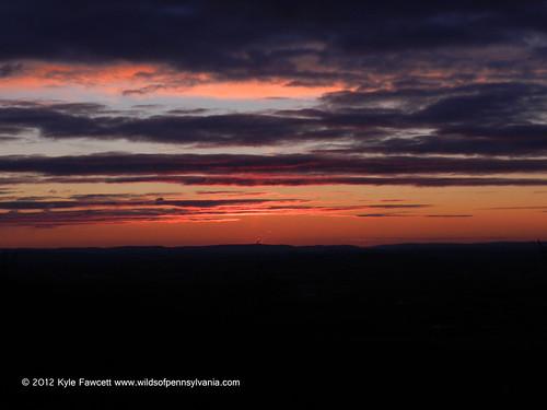 sunrise dawn hiking pennsylvania appalachiantrail berkscounty bluemountain kimmelview
