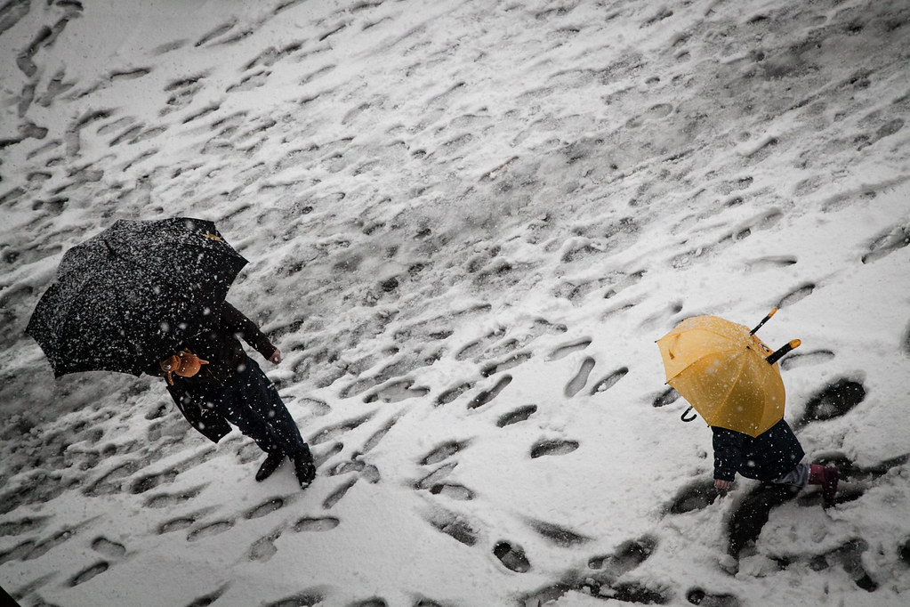 Neve a Milano - 14 dic 2012