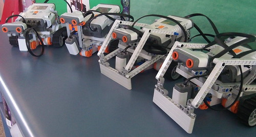 Lego Mindstorms NXT Robots