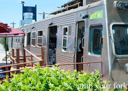 train carriage diner at step-a-side diner cabramatta