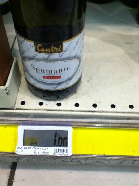 1 Euro Wine
