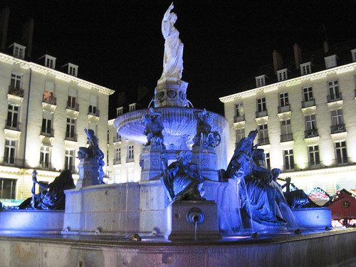 the central square in Nantes (c2012 FK Benfield)