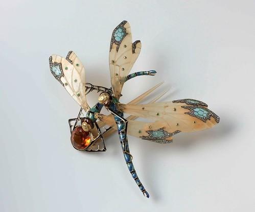 002- Peineta en forma de dos libélulas, Lucien Gaillard, ca 1904- Rijksmuseum