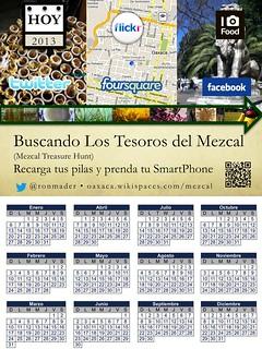 Buscando los tesoros del mezcal (2013 Calendar)