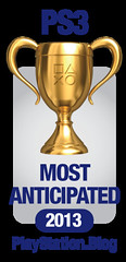 PS.Blog Game of the Year 2012 - PS3 Most Anticipated Gold