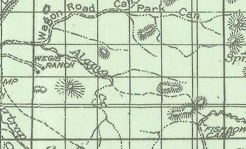 Alamo Canyon Trail, 1944