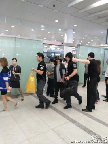 BIGBANG GDTOPDAE arrival Hangzhou 2015-08-25 139