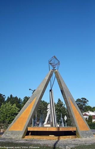 Monumento aos Combatentes do Ultramar - Tábua - Portugal