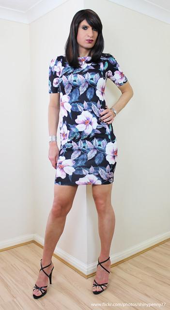 Flowery dress again