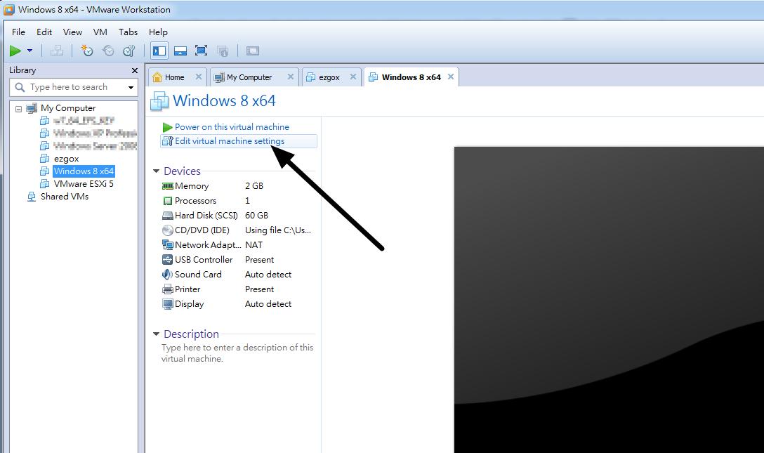 enable win8 hyper-v on vmware workstation