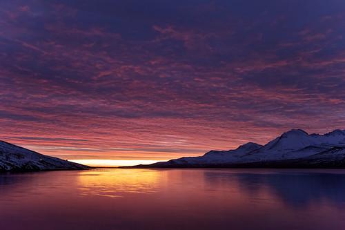 morning sky mountains reflection clouds sunrise iceland ísland ský himinn speglun fjöll morgunn sandfell sólarupprás fáskrúðsfjörður faskrudsfjordur jónínaguðrúnóskarsdóttir