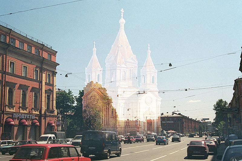 Благовещенская церковь (сегодня площадь Труда)