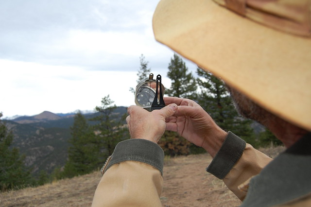 Compass Navigation - Hiking at Tenderfoot Loop Trail, Boulder, CO