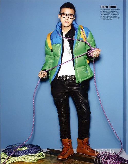 G-Dragon The North Face CF