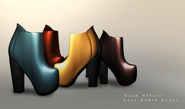 -Glam Affair- Seul Ankle Boots