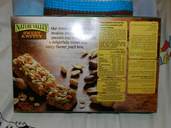 Nature Valley Sweet & Nutty Peanut bars, mmmm..