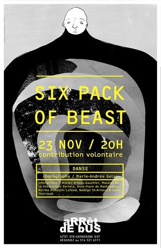 Six pack of beast