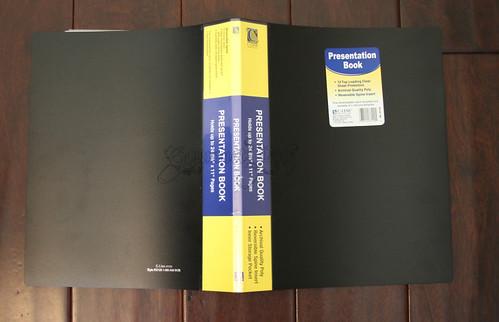 C-Line Presentation Book
