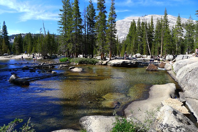I spent most of my day here at the Tuolumne River