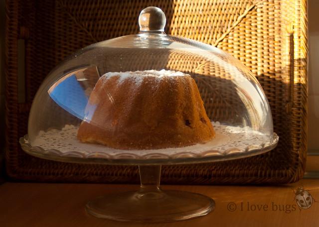 BUNDT CAKE DE FRUTAS DEL BOSQUE