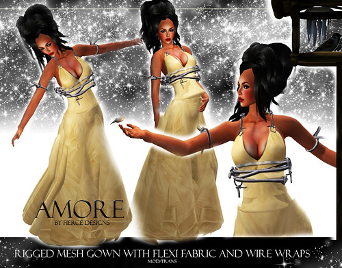 Amore in Champagne by Fierce Designs
