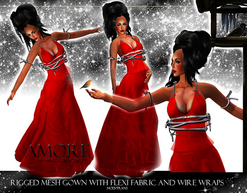 Amore in Red by Fierce Designs