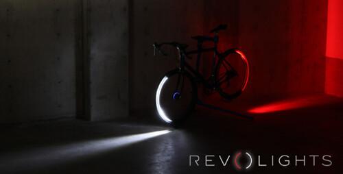 Светодиодные колеса Revolights для велосипеда попали в продажу