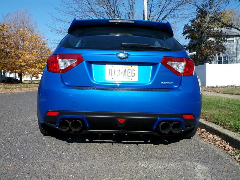 Wrx Hatchback rear foglight - NASIOC