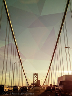 Bay Bridge - San Francisco Bound [shapes]