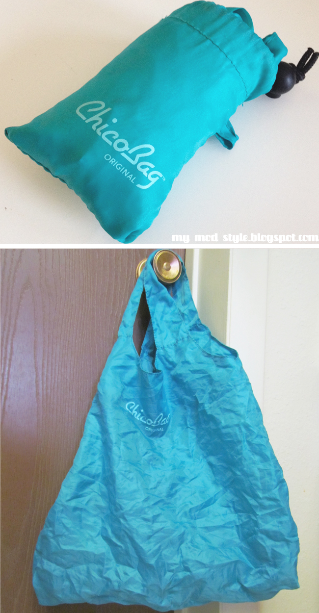 Reuseable bag teal