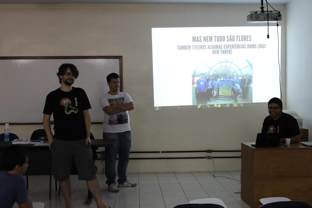 Palestra de Renato, Gileno e Fernando sobre o PUG-PE